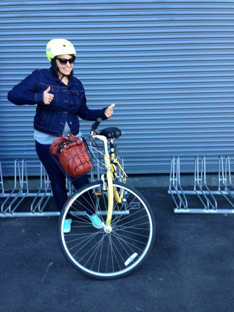 I could not look dorkier. Please enjoy this photo as much as I enjoyed riding bikes in San Francisco!
