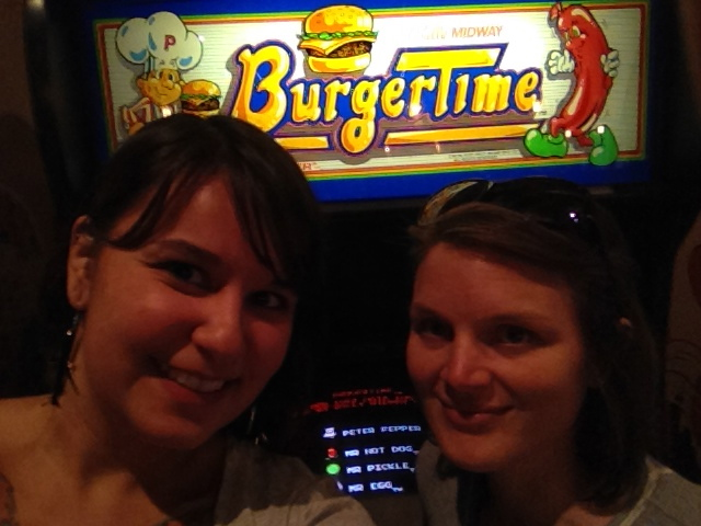 Burger Time Arcade Game