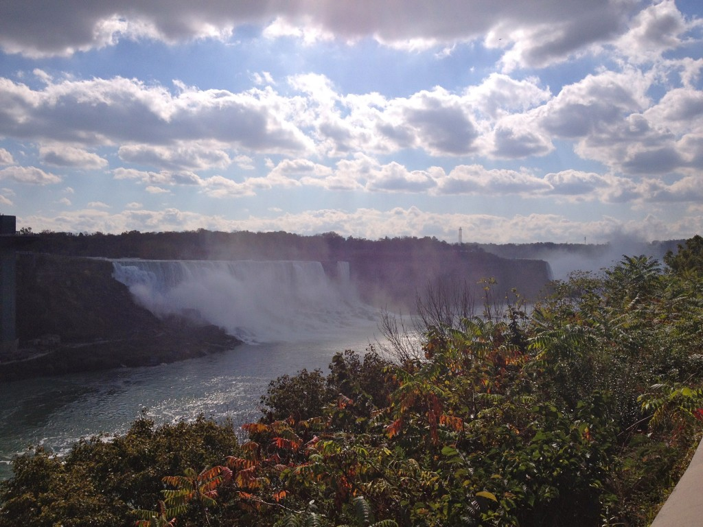 Niagara Falls as seen from Canada