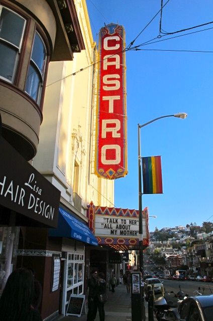 Castro Theatre Sign in San Francisco