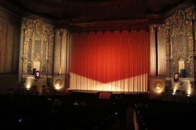 Inside the Castro Theatre in San Francisco