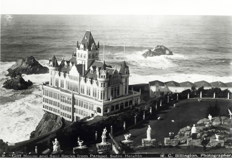 San Francisco Cliff House in 1900 before fire