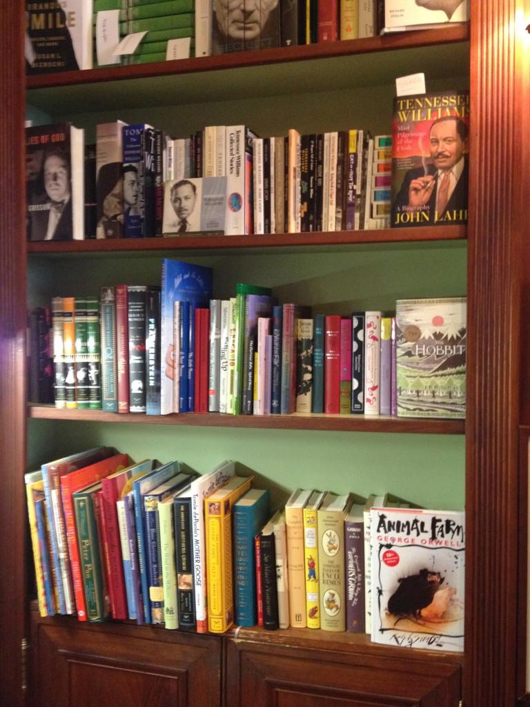 Faulkner House bookstore