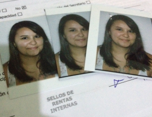 Thanks to the DTOP, I not have an assortment of semi unflattering 2x2 photos of myself.
