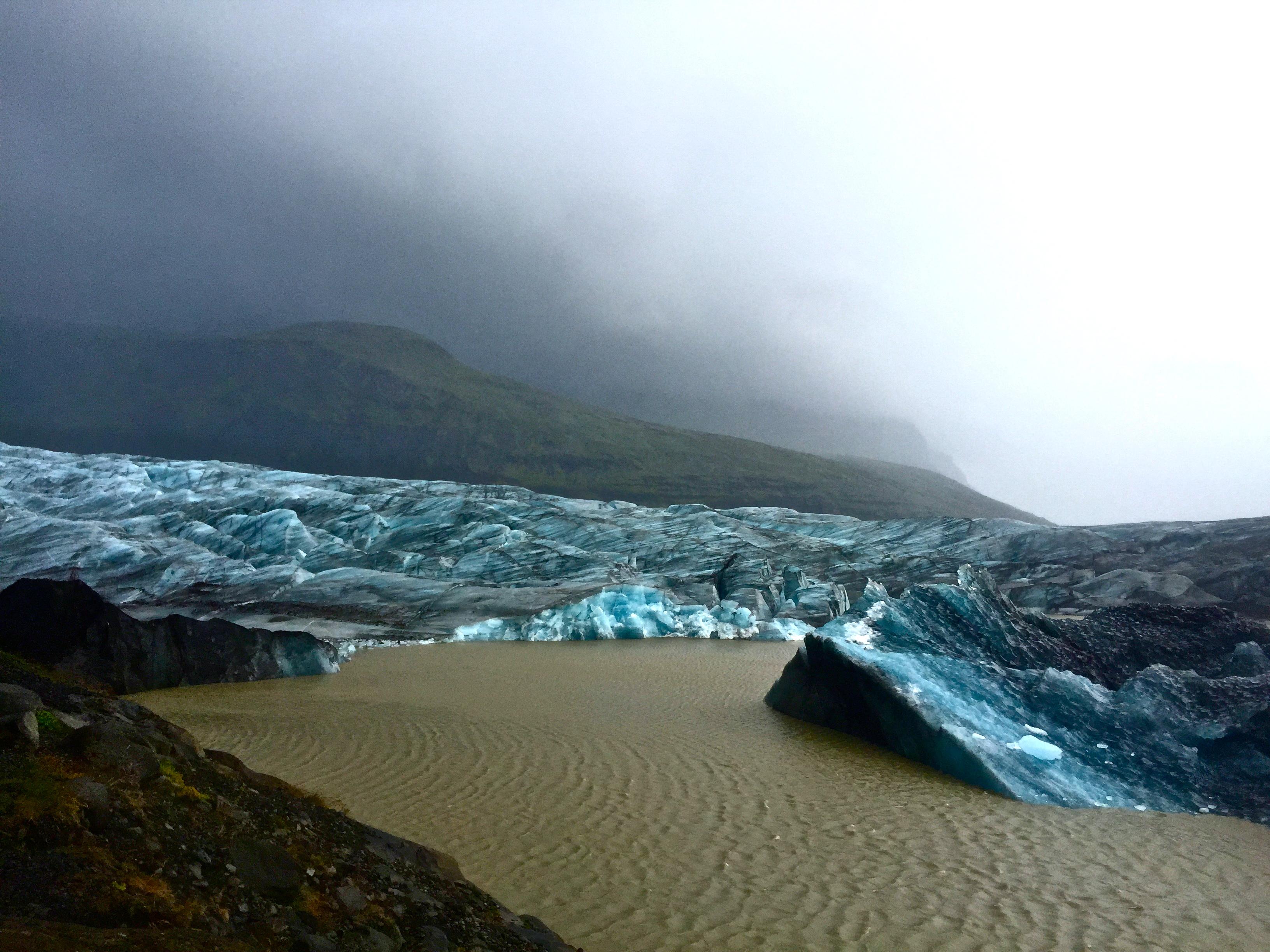Vatnaj 246 Kull Glacier At Skaftafell National Park South