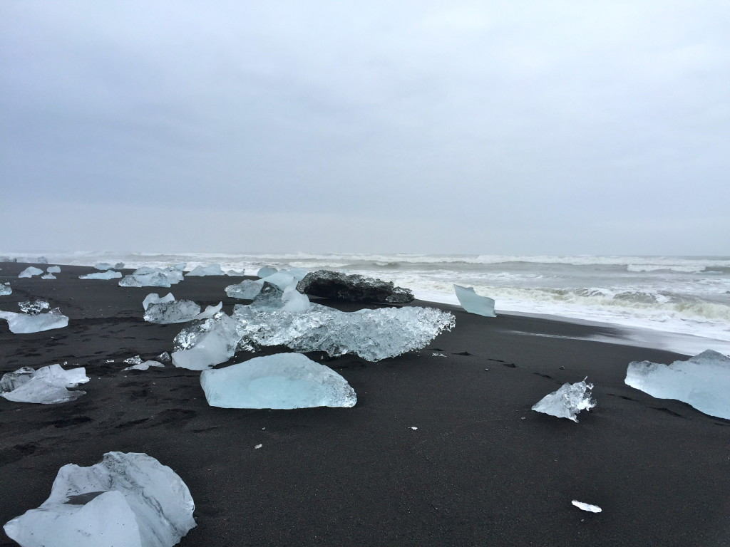 glacier beach