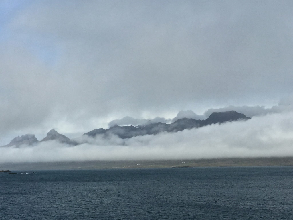 east coast Iceland mountains