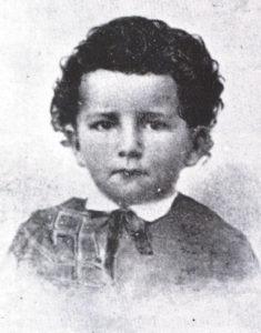 José Asunción Silva, dandiest damn toddler on the block.