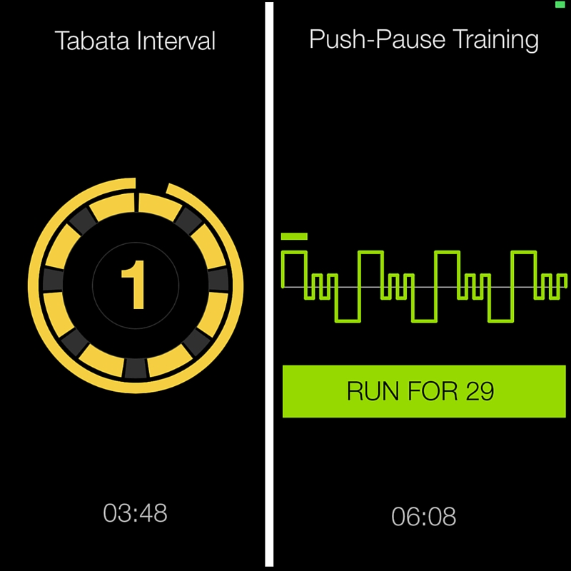 fitness apps tabata
