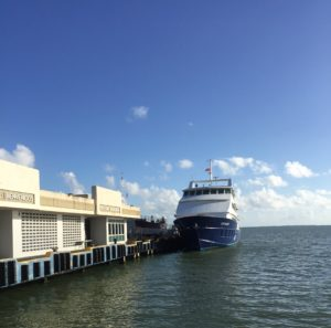 culebra ferry at fajardo terminal