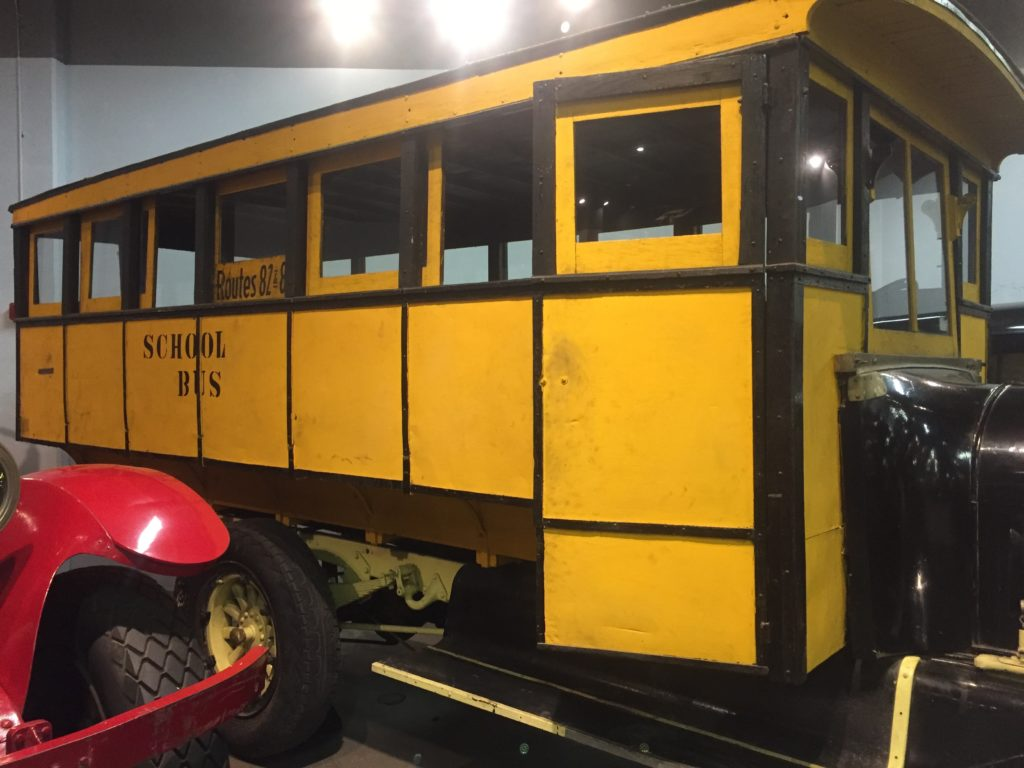 forney museum old school bus